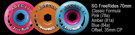 ABEC11 The best wheels are made in the USA!